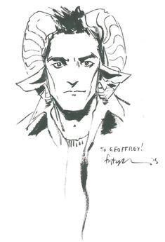 Marko of Saga by Fiona Staples Comic Art