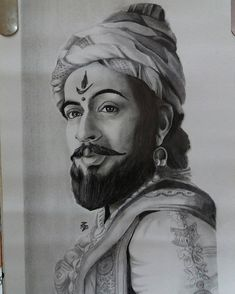 How to Draw Shivaji Maharaj Face pencil drawing step by step Portrait Sketches, Art Drawings Sketches, Pencil Portrait, Face Pencil Drawing, Abstract Pencil Drawings, Shivaji Maharaj Painting, Shivaji Maharaj Hd Wallpaper, Cute Disney Drawings, Disney Pencil Drawings