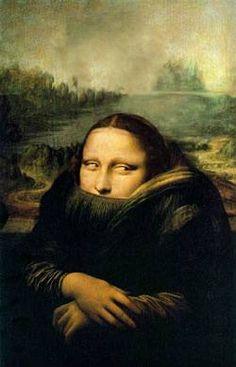 How the Mona Lisa would have looked if Leonardo da Vinci had been a surrealist painter ‼  Mona Lisa Smile, Tachisme, Monet, Mona Lisa Parody, Terry Gilliam, Renaissance Artists, Monty Python, Italian Artist, Art History