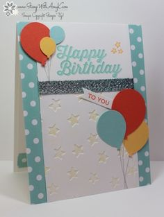Happy Birthday to You by amyk3868 - Cards and Paper Crafts at Splitcoaststampers