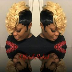 short 27 piece with swoop quickweaves