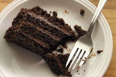 Chocolate Brooklyn Blackout Cake | www.dearsweetwood.com