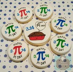 Pi Day sugar cookies 3.14 Keri's Kreations