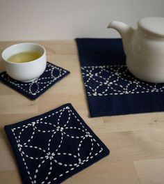 DIY Sashiko Embroidery Kit