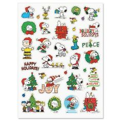 """15 Note Size Snoopy Christmas Cards /& Envelopes 4x5 1//2/"""""""