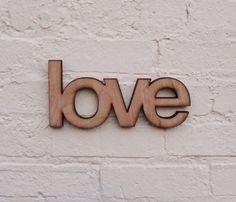 Wooden Love Sign :)