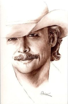 Secrets Of Drawing Most Realistic Pencil Portraits - - Alan Jackson Secrets Of Drawing Realistic Pencil Portraits - Discover The Secrets Of Drawing Realistic Pencil Portraits Country Music Artists, Country Music Stars, Country Singers, Celebrity Drawings, Celebrity Portraits, Caricatures, Pencil Portrait, Western Art, Drawing People