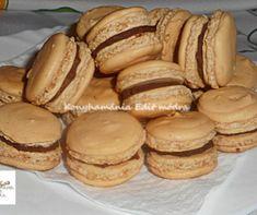 Macaron recept   Mindmegette.hu Pavlova, Bacon, Bread, Cookies, Food, Crack Crackers, Brot, Biscuits, Essen