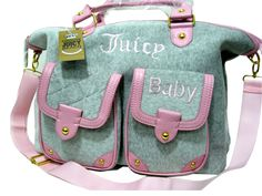 Juicy Couture Baby Fluffy Velour Handbags larger image