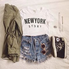 outfit, fashion, and new york image