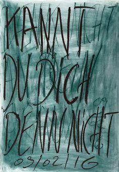 YOSEF JOSEPH DADOUNE   Kannt Du Dich Denn Nicht 09/02/16  Pastels on Nostalgique Hahnemühle paper  59,4 x 84,1cm (A1) - 190g/m²  Photographer: Yigal Pardo
