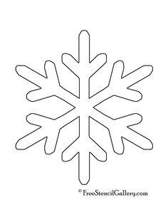 snowflake stencil 11