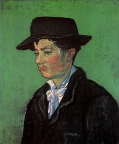 Portrait of Armand Roulin - Vincent van Gogh