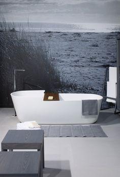 Freestanding Korakril™ bathtub SLOW BATH by GD Arredamenti design Enzo Berti