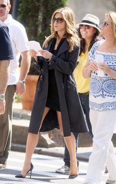 Jennifer Aniston always stunning and she takes it to the next level with her choice of shades