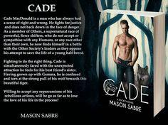 Cade: A Society Novel by Mason Sabre