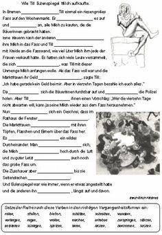 zeitformen von verben verben in der vergangenheit deutsch 4 klasse zeitformen deutsch. Black Bedroom Furniture Sets. Home Design Ideas