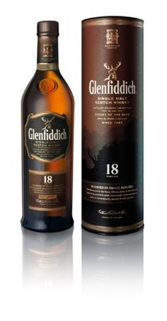Glenfiddich 18   [Single Malt Scotch Whisky]. It's on my short list of whisky.