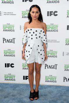 Zoe Kravitz at the Spirit Awards
