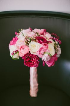 { flowers for the bride }