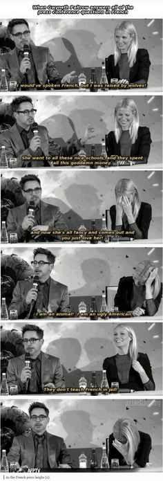 Robert Downey Jr was raised by wolves