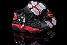 Air Jordan 13 Womens Retro Breds Black Varsity Red White