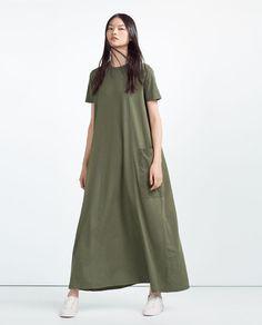 ZARA - WOMAN - OVERSIZED DRESS
