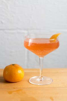 Blood Orange Champagne Cocktail | PDXfoodlove