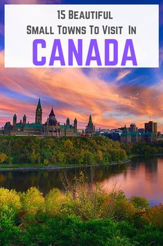 There are so many spectacular places to visit in Canada, from large, vibrant cities to small mountai Visit Canada, Canada Canada, Canada Trip, Alberta Canada, Vancouver, Backpacking Canada, Backpacking Thailand, Canada Destinations, Amazing Destinations