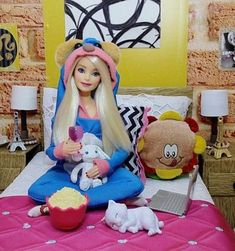 Barbie Doll House, Doll Clothes Barbie, Barbie Toys, Barbie Life, Barbie World, Barbie And Ken, Barbie Stuff, Barbie Tumblr, Billy Ikea