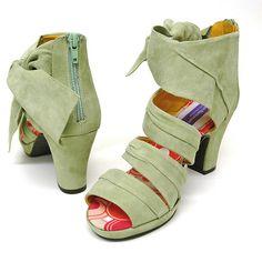 7f64c3422fb3 Iris Platform Sandals by Helen Bateman