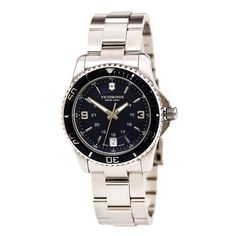 Swiss Army 241609 Women's Maverick Blue Dial Stainless Steel Bracelet Watch