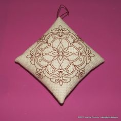Diamond Ornament Tutorial | Byrd's Nest