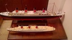 Titanic 1/350 Academy Queen Mary 1/570 Revell (En Venta. Consultar javi.kiss@gmail.com) Solo Bs. As. Queen Mary 1, Titanic Model, Kiss, Model Ships, Kisses, A Kiss