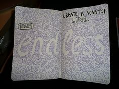 WRECK THIS JOURNAL - create a nonstop line | Flickr - Photo Sharing!