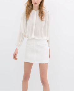 Image 3 of SKIRT WITH ZIPS from Zara