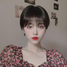 Korean Short Hair, Very Short Hair, Short Hair Cuts, Short Hair Styles, Cute Short Haircuts, Cute Hairstyles For Short Hair, Pixie Hairstyles, Ulzzang Hair, Chica Cool