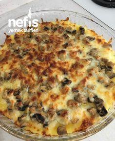 Rice Recipes, Potato Recipes, New Recipes, Yummy Recipes, Cheddar Potatoes, Cheese Potatoes, Baked Mushrooms, Stuffed Mushrooms, Pastry Cake