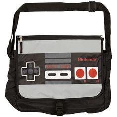 Nintendo Controller Styler Satchel Bag with Reversible Flap