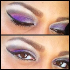 Purple, brown, pink, & highlights.  Makeup by Emmy Soden  Follow me for free makeup tips Facebook: Emmy Soden Avon.