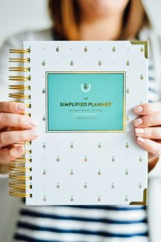 Giveaway: Win a Free Simplified Planner by Emily Ley! // by gabriella @gabivalladares