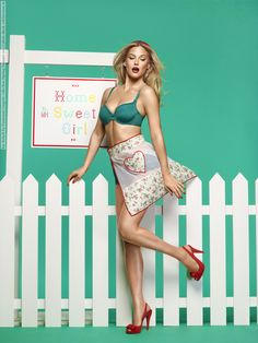 Bar Refaeli for Passionata Lingerie collection (Spring-Summer 2013) photo shoot - Celebs Venue - Fashion models and celebrities pictures & videos