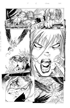 Darkness #4 page 6 - Comic Art Work By Marc Silvestri - #comics, #comicart, #marcsilvestri, #silvestri