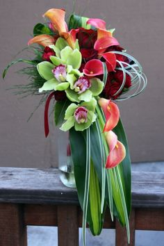 Wedding Bouquet-Orchids-Floral