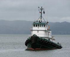 Tug Boat, Columbia River, Astoria