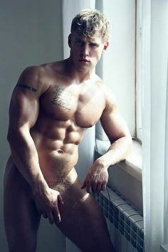 Nude male model full body This phrase
