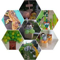 Idee x festa safari Jungle