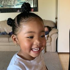 Black Baby Girl Hairstyles, Mixed Baby Hairstyles, Cute Toddler Hairstyles, Lil Girl Hairstyles, Natural Hairstyles, Beautiful Black Babies, Beautiful Children, Cute Little Baby, Pretty Baby