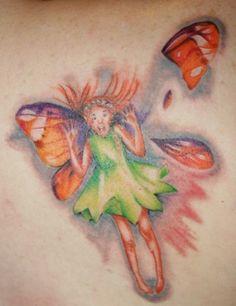 Pressed Fairy Tattoo!