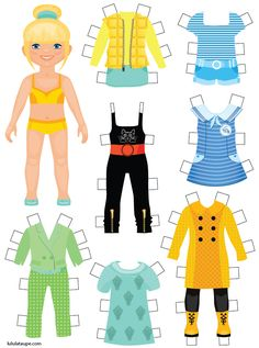 Quiet Book Templates, Barbie Paper Dolls, Paper Dolls Printable, Paper Crafts Origami, Travel Toys, Dress Up Dolls, Activity Sheets, Paper Toys, Kids Gifts